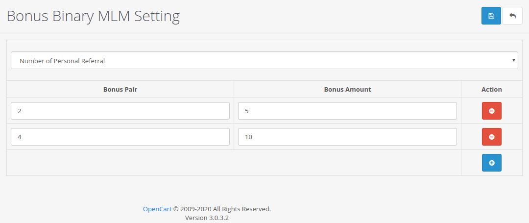 |'Opencart'| |'letscms'| |'opencart Binary mlm plan'| |'payout'| |'bonus'| |'Settings'| |'configration'| |'bonus settings'| |'Dashboard'| |'binary mlm plan'| |'mlm'| |'mlm Plan'| |'Binary'| |'binary mlm extension'| |'costomer list'| |'new users'| |'Installer'| |'mlmtrees.com'| |'mlm plan'| |'extension'| |'Opencart mlm plan'|