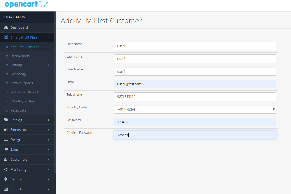 |'Opencart'| |'letscms'| |'opencart Binary mlm plan'| |'firstuser'| |'Dashboard'| |'binary mlm plan'| |'mlm'| |'mlm Plan'| |'Binary'| |'binary mlm extension'| |'costomer list'| |'new users'| |'Installer'| |'mlmtrees.com'| |'mlm plan'| |'extension'| |'Opencart mlm plan'|