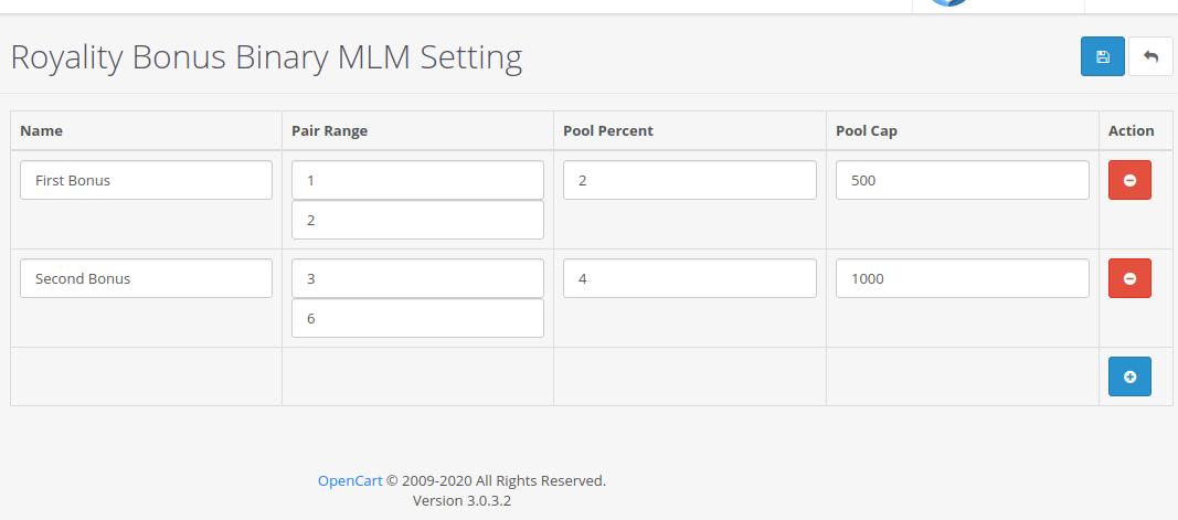 |'Opencart'| |'letscms'| |'opencart Binary mlm plan'| |'royality'| |'bonus'| |'Settings'| |'configration'| |'royality settings'| |'Dashboard'| |'binary mlm plan'| |'mlm'| |'mlm Plan'| |'Binary'| |'binary mlm extension'| |'costomer list'| |'new users'| |'Installer'| |'mlmtrees.com'| |'mlm plan'| |'extension'| |'Opencart mlm plan'|