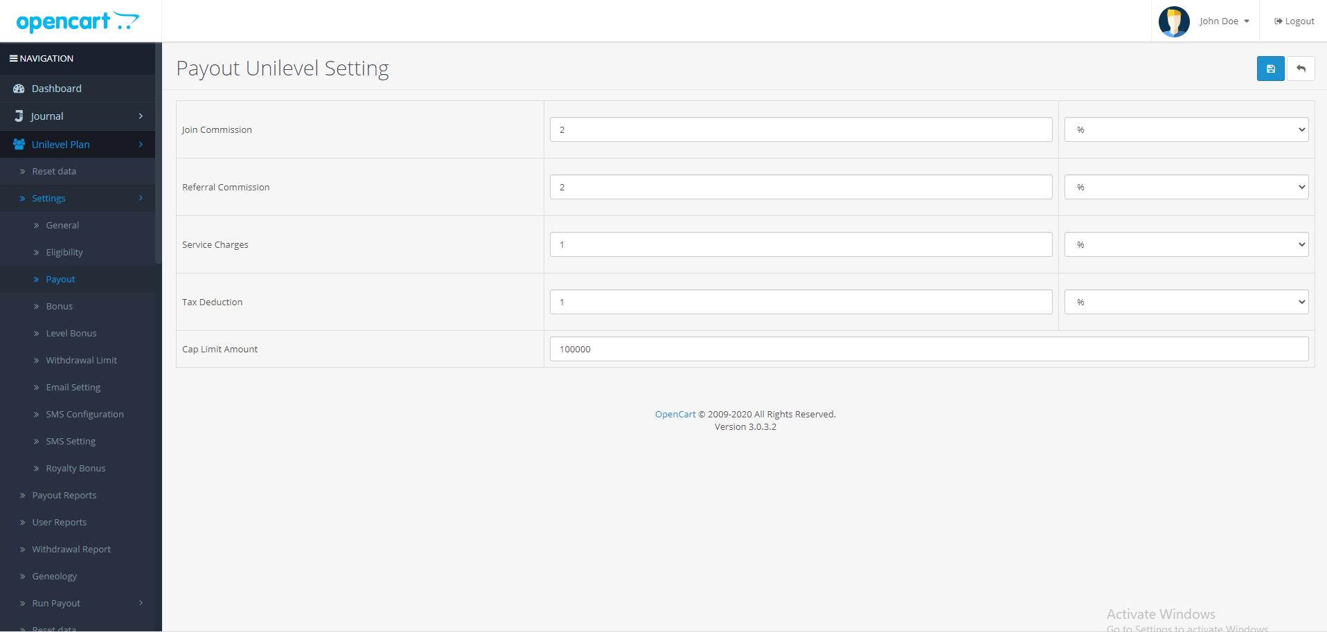 |'Opencart'| |'letscms'| |'opencart unilevel mlm plan'| |'payout'| |'Dashboard'| |'unilevel mlm plan'| |'mlm'| |'mlm Plan'|  |'setting'| |'new users'| |'unilevel'| |'unilevel mlm extension'| |'costomer list'| |'new users'| |'Installer'| |'mlmtrees.com'| |'mlm plan'| |'extension'| |'Opencart mlm plan'|