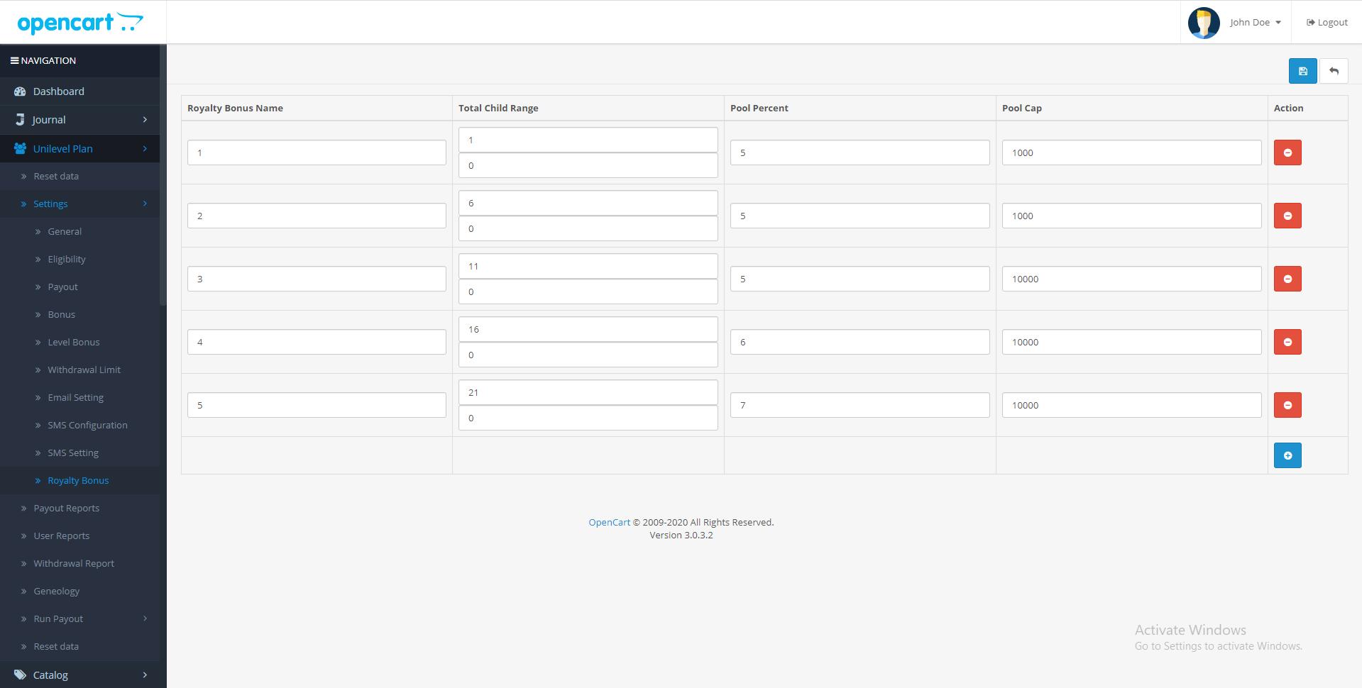 |'Opencart'| |'letscms'| |'opencart unilevel mlm plan'|  |'royality'| |'Dashboard'| |'unilevel mlm plan'| |'mlm'| |'mlm Plan'|  |'setting'| |'new users'| |'unilevel'| |'unilevel mlm extension'| |'costomer list'| |'new users'| |'Installer'| |'mlmtrees.com'| |'mlm plan'| |'extension'| |'Opencart mlm plan'|