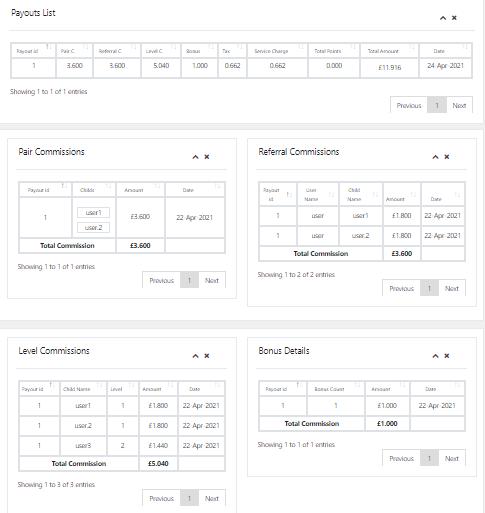|'Wordpress'| |'letscms'| |'Binary mlm WooCommerce plan'| |'user detail'| |'sms settings'| |'user data'| |'mlm settings'| |'settings'| |'mlmtrees.com'| |'mlm plan'| |'wordpress mlm plan'|