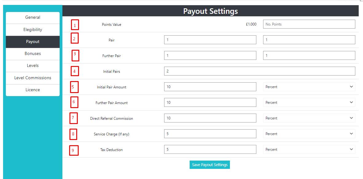 |'Wordpress'| |'letscms'| |'Binary mlm WooCommerce plan'| |'payout settings'| |'mlm settings'| |'settings'| |'mlmtrees.com'| |'payout'| |'payment'| |'mlm plan'| |'wordpress mlm plan'|