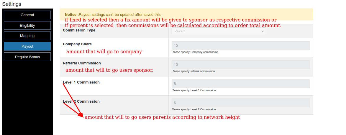 |'Wordpress'| |'letscms'| |'ForceMatrix mlm WooCommerce plan'| |'payout settings'| |'mlm settings'| |'settings'| |'mlmtrees.com'| |'payout'| |'payment'| |'mlm plan'| |'wordpress mlm plan'|