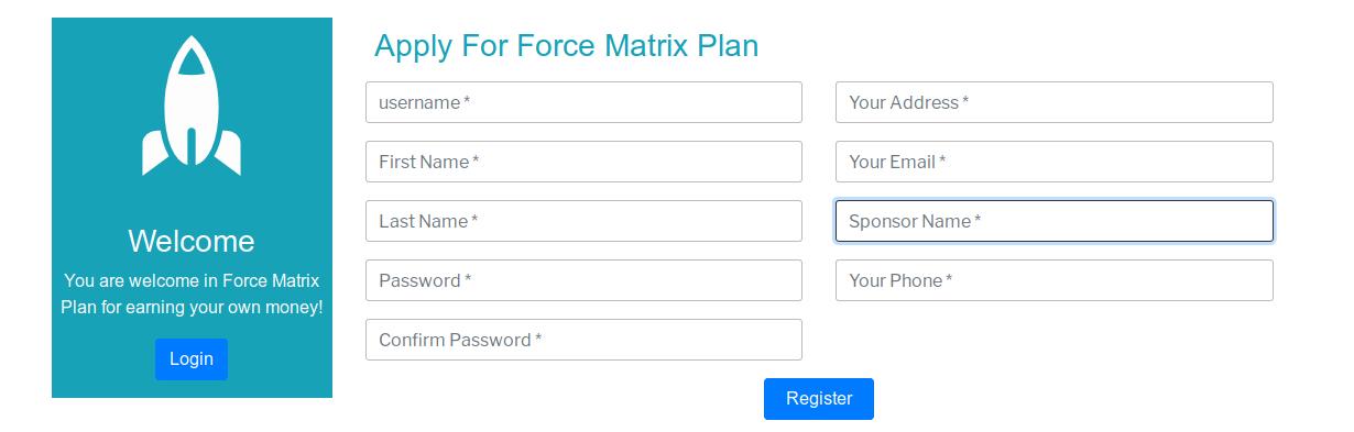 |'Wordpress'| |'letscms'| |'ForceMatrix mlm WooCommerce plan'| |'reset mlm plan'| |'mlm settings'| |'settings'| |'mlmtrees.com'| |'mlm plan'| |'wordpress mlm plan'|