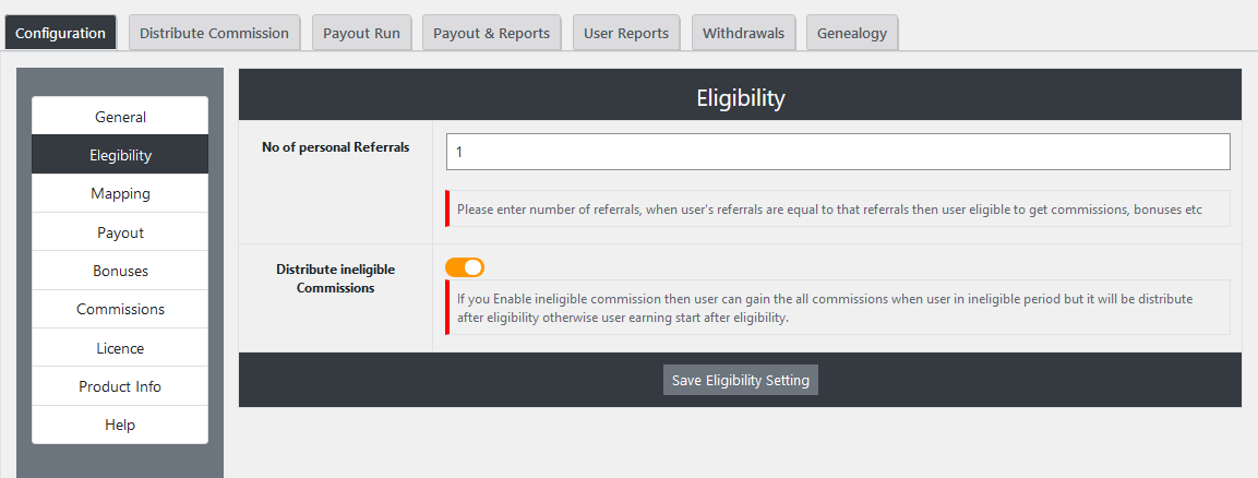 |'Wordpress'| |'letscms'| |'Unilevel mlm WooCommerce plan'| |'eligliblity settings'| |'mlm settings'| |'settings'| |'mlmtrees.com'| |'mlm plan'| |'umw plan'| |'umw'| |'wordpress mlm plan'|